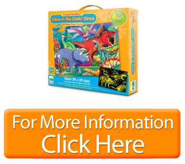 The Learning Journey Doubles Glow in Dark Dino Puzzle Significant ...